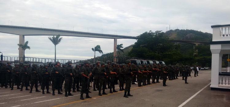 GLO: Mil homens das Forças Armadas atuam no Espírito Santo
