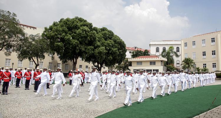 Fuzileiros Navais comemoram 209 anos com cerimônia no Rio de Janeiro