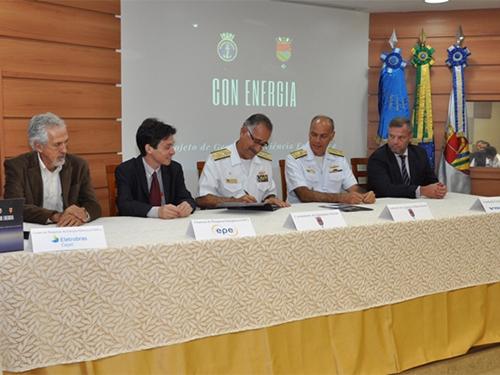 Comando de Operações Navais lança projeto de gestão e eficiência energética
