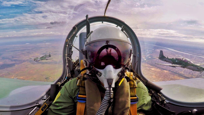 Esquadrão Escorpião comemora a marca de 70 mil horas de voo