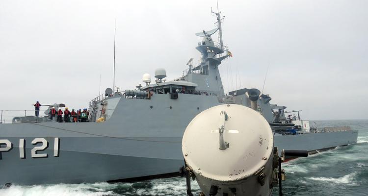 O Navio-Patrulha Oceânico Apa comporta uma tripulação de 12 oficiais, 21 SO/SG e 48 CB/MN