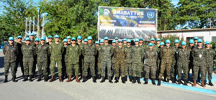Ministério da Defesa realiza reconhecimento do 26º Contingente Brasileiro ao Haiti