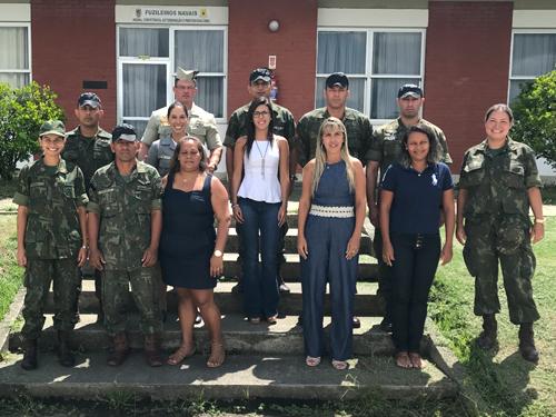 NAS/CIAMPA realiza encontro com militares para o 26º contingente do Haiti