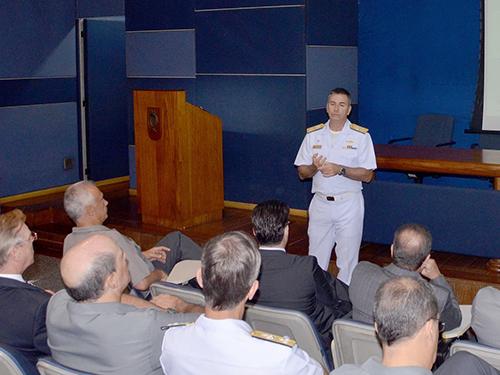 DGMM e Secretaria de Produtos de Defesa promovem ciclo de palestras