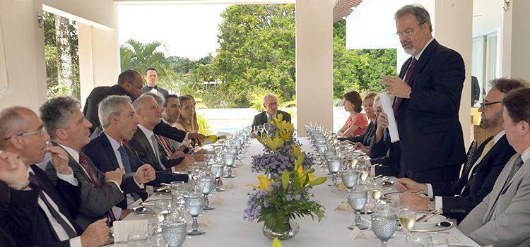 Ministro Jungmann defende incremento da parceria entre Brasil e União Europeia