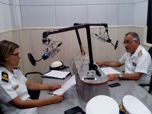 Rádio Marinha é inaugurada em Rio Grande (RS)
