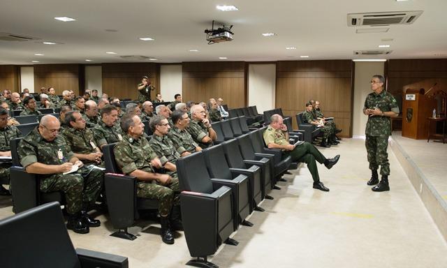 Reunião de Grandes Comandos Administrativos 2017 em Brasília