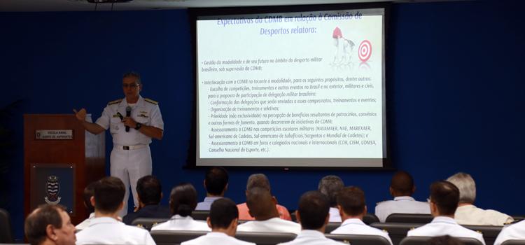 Workshop debate desporto militar brasileiro no Rio