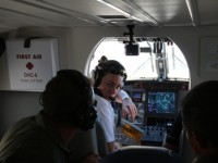 Interior da aeronave Twin Otter