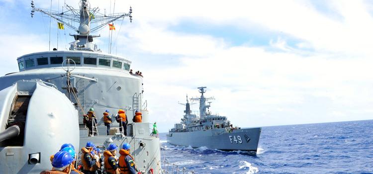 Marinha e Força Aérea apoiam buscas a navio desaparecido