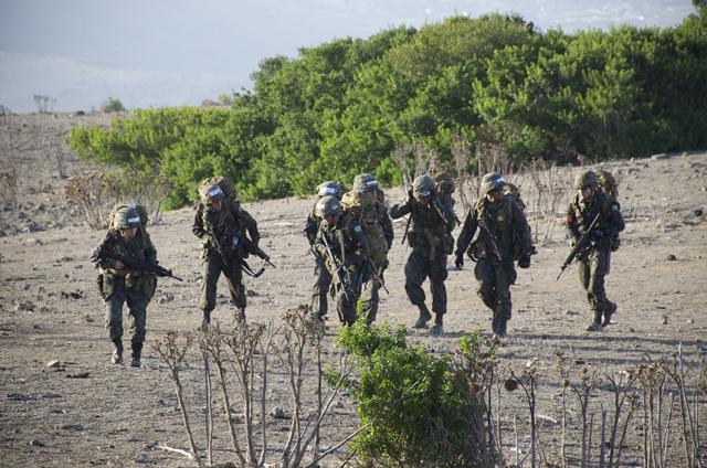 Cadetes representam o Exército Brasileiro no Chile