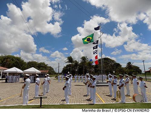 Cerimônia em comemoração ao Dia das Comunicações Navais