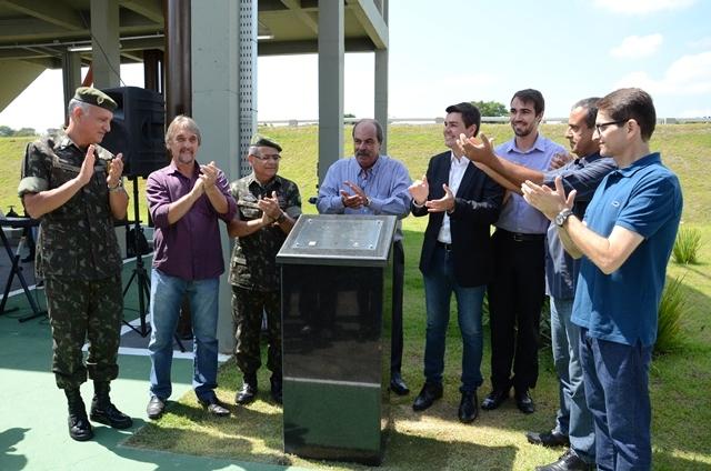 Estação de tratamento de esgoto é inaugurada na AMAN