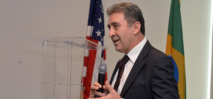 Autoridades americanas, brasileiras e empresários de ambos os países participaram do Diálogo