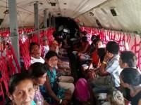 Esquadrão Arara transporta indígenas para atendimento médico