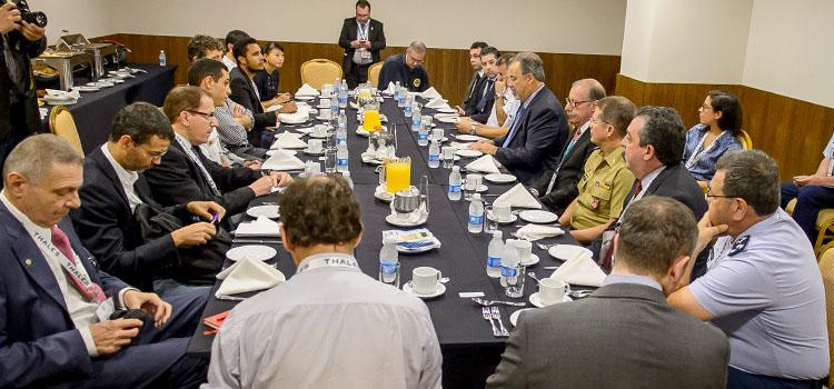 LAAD 2017: Ministro Jungmann recebe a imprensa especializada