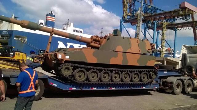 Conheça o novo obuseiro M109 A5 do Exército