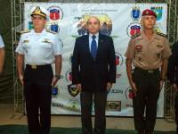 A solenidade foi presidida pelo secretário de Pessoal, Ensino, Saúde e Desporto do Ministério da Defesa, brigadeiro Ricardo Machado