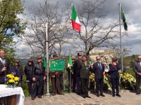 A cerimônia ocorreu na manhã da terça-feira (25/04) em Montese