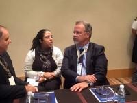 Ministro Jungmann encontrou-se com o CEO da empresa sueca SAAB, Hakan Buskhe