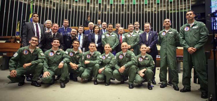 """""""A fumaça é aquilo que aparece de todo o segmento da Força Aérea Brasileira"""", disse o brigadeiro Damasceno"""