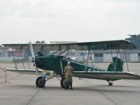 Durante a cerimônia estava em exposição a aeronave que protagonizou a criação do CAN