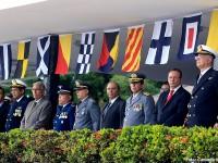 Autoridades durante a cerimônia