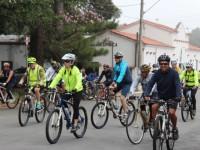 Cerca de 60 ciclistas percorreram as dependências da Ala