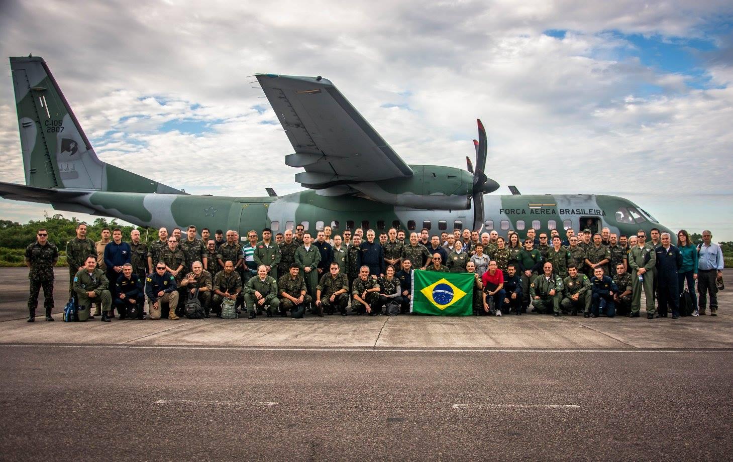 Estagiários do Curso Superior de Defesa realizam viagem de estudos ao Amazonas