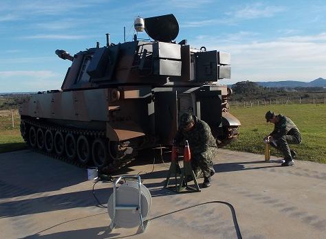 Exercícios de defesa externa na fronteira Sul do Brasil