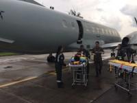 Uma das missões do esquadrão é a evacuação aeromédica
