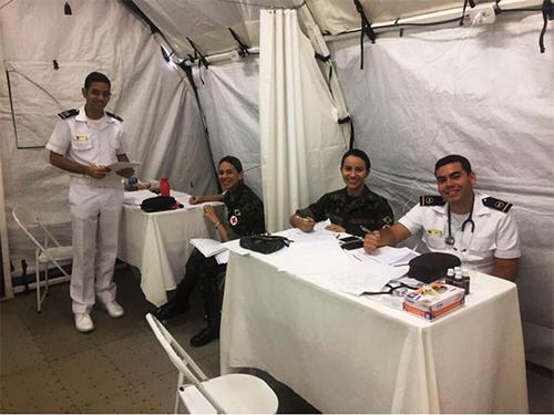 Marinha do Brasil apoia Hospital de Campanha nos municípios de Rio Formoso (PE) e Marechal Deodoro (AL)