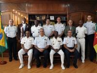 Visita do Chefe do Estado-Maior da Marinha Nacional de Camarões no Comando do Controle Naval do Tráfego Marítimo