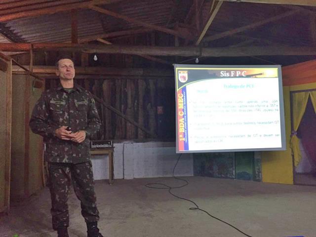 1ª Brigada de Cavalaria Mecanizada realizou palestras de orientação aos integrantes de Entidades de Tiro Desportivo