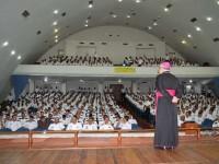 Arcebispo Militar palestra sobre a virtude da honra e a vida militar