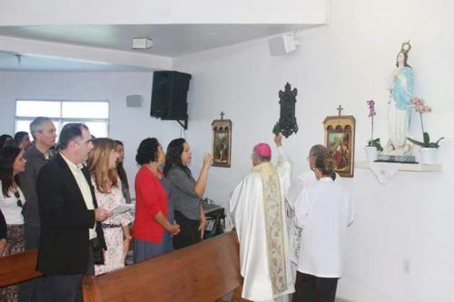 Arcebispo do Ordinariado Militar realiza Dedicação da Capelania Militar Nossa Senhora da Conceição