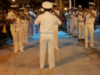 Bandas de Música da Marinha do Brasil e da Marinha do Peru realizaram apresentação em Iquitos