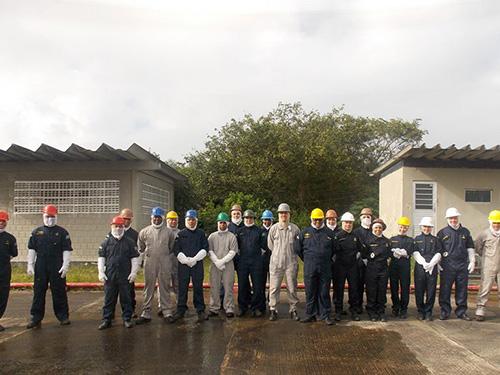 Base Naval de Aratu realiza 1º Curso Expedito de Controle de Avarias em Edificações Terrestres