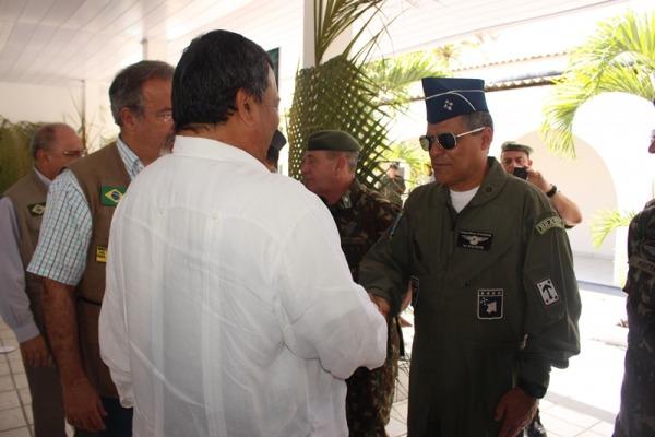 Força Aérea participou da reunião bilateral entre Brasil e Peru