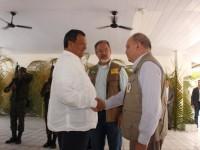 Ministros da Defesa do Brasil e do Peru participaram de reunião em Tabatinga
