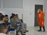 O curso foi realizado com apoio do Corpo de Bombeiros Militar da Bahia