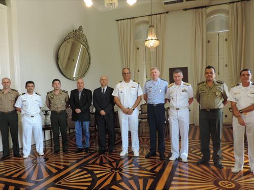 Comitiva do Ministério da Defesa realiza Visita Técnica de Serviço Militar em Belém (PA)