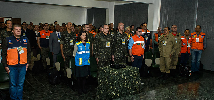 Começa o primeiro Exercício Conjunto de Defesa Civil no Estado do Rio