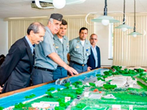 Diretor Industrial da Marinha realiza visita técnica à Base Naval de Natal