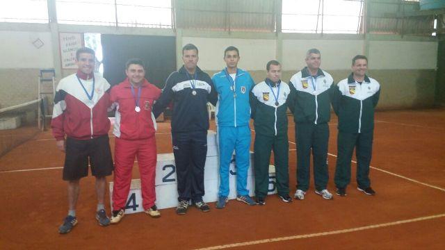 Equipe de Tênis nos Jogos da 3ª Divisão de Exército