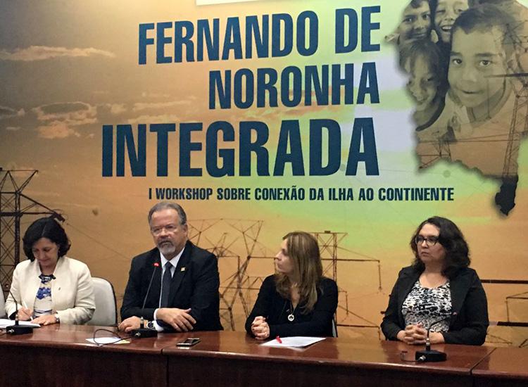 Jungmann participa de evento sobre implantação de cabo submarino para a ilha de Fernando de Noronha