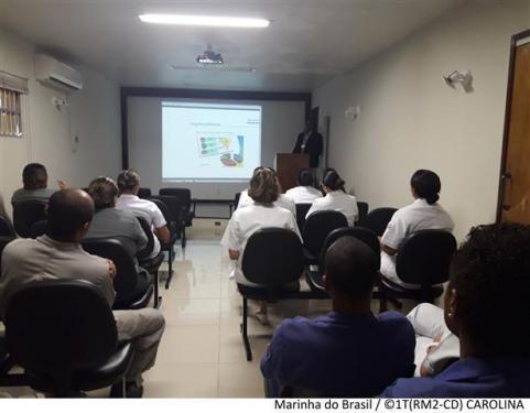 """Hospital Naval de Recife promove palestra sobre """"Eficiência Energética"""""""