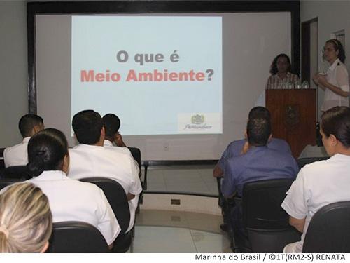 Palestra realizada no Hospital Naval de Recife