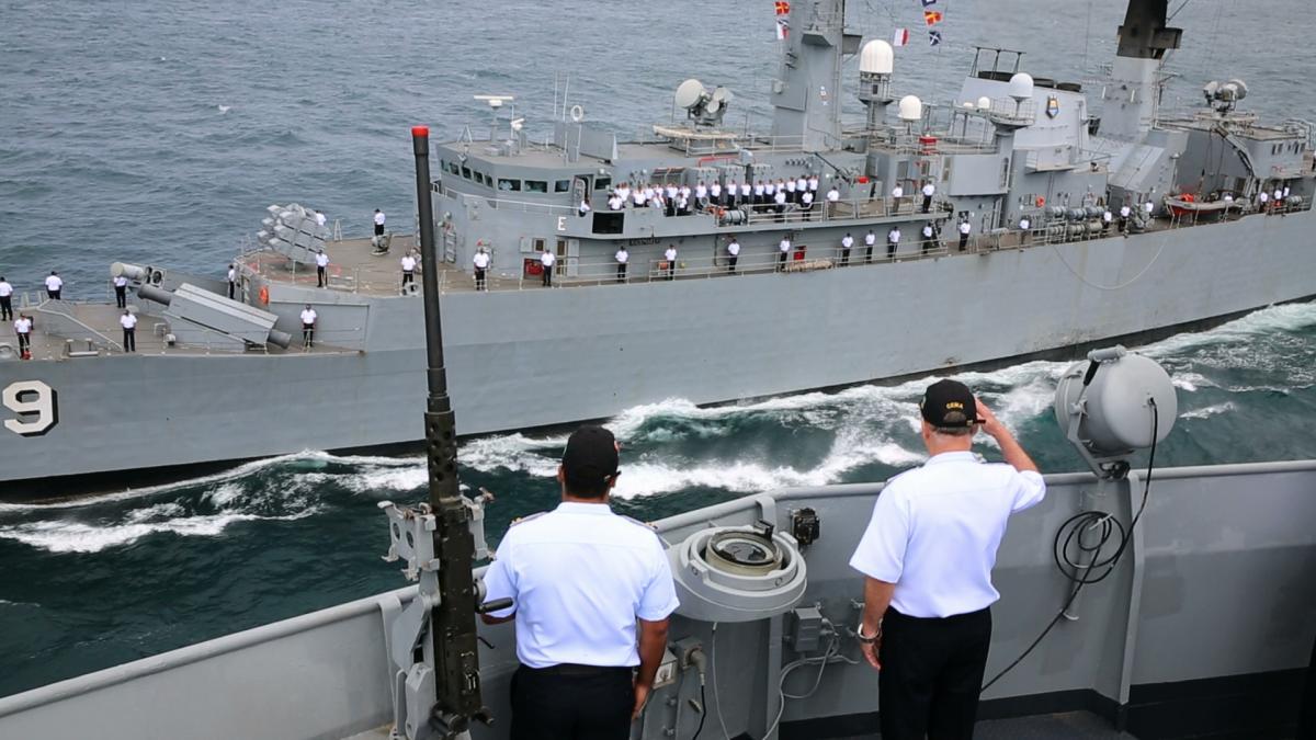 Marinha do Brasil realiza Parada Naval em homenagem ao Chefe do Estado-Maior da Armada