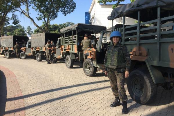 Oficial vai para o Sudão como primeira observadora militar da FAB
